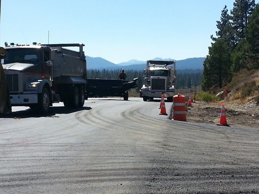 Paving in truckee