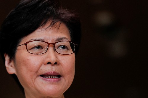 Hong Kong leader says measures announced this week are a 'first step'