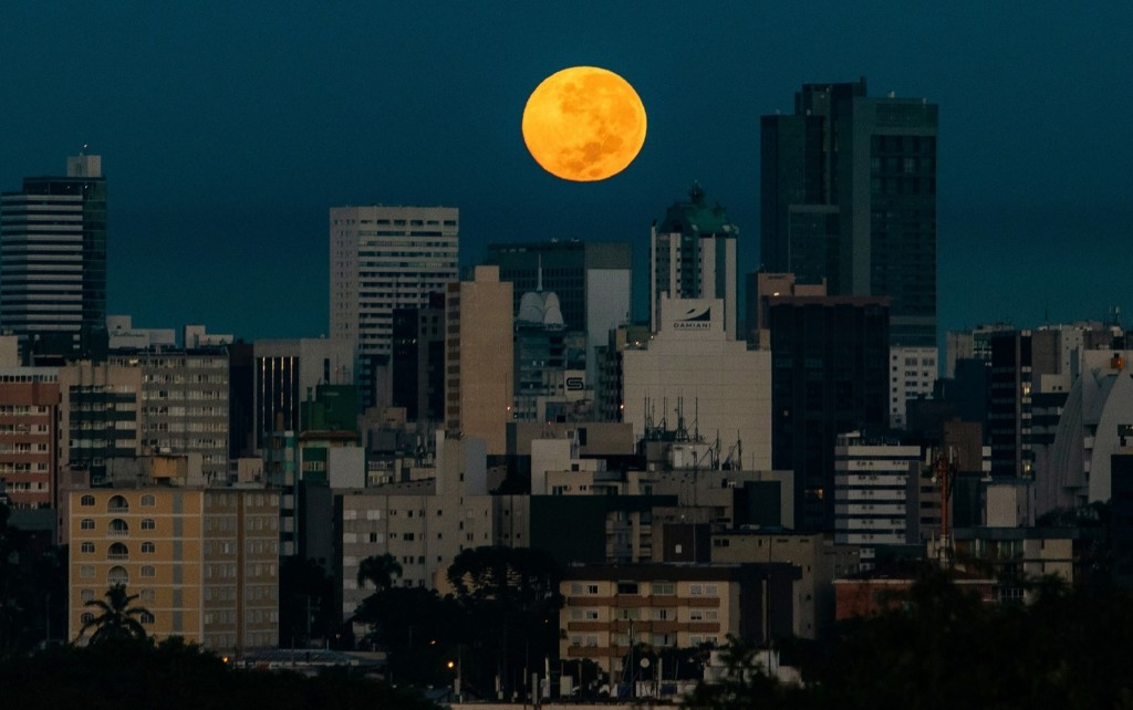 The Flower Supermoon in Pictures