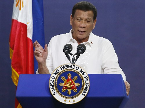 Duterte suspends any loan talks with backers of rights probe