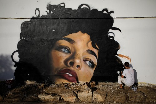 POW! WOW! Art Festival in Israel: Pictures