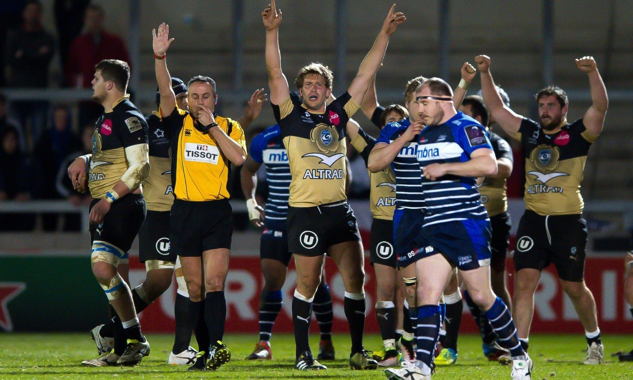 Benoît Paillaugue guides Montpellier to hard-fought win over Sale