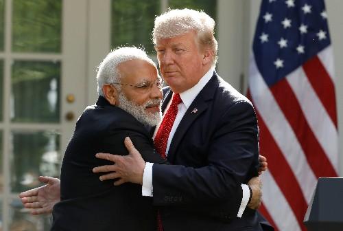 Trump hails Modi for election win