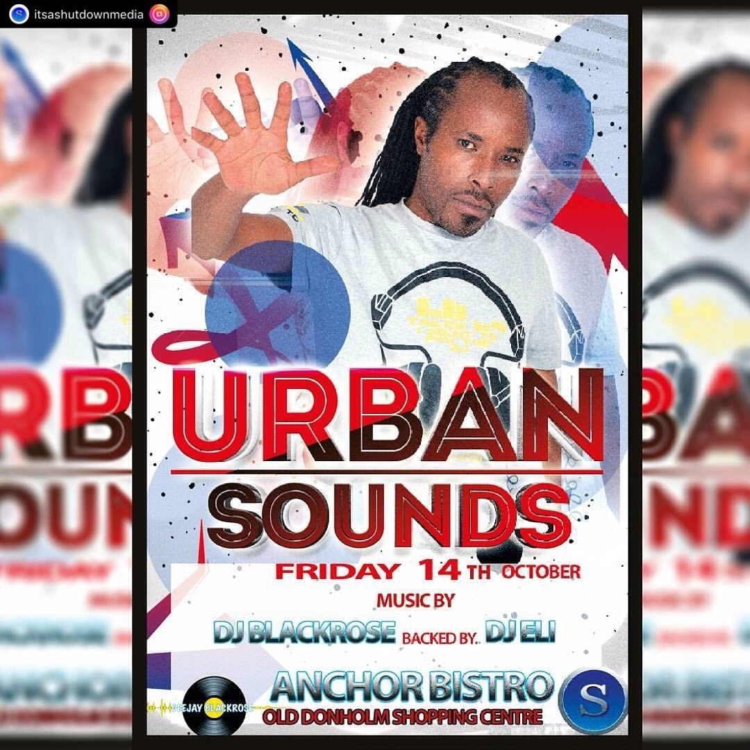 Urban sounds friday 14th october 2016 at Anchor Bistro Donholm.