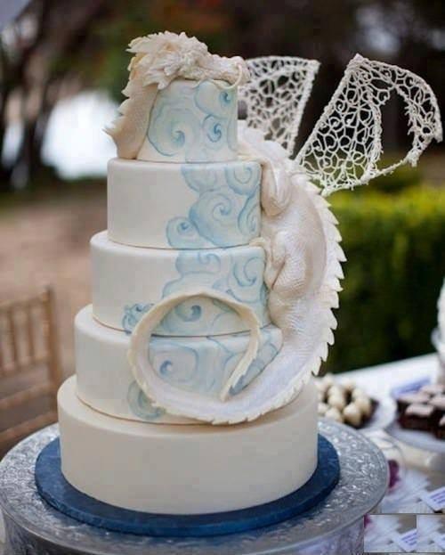 How to tame a #dragon? Bake him a #cake.