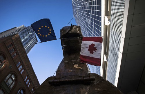 Canada says it is close to deal with EU on possible fix to WTO deadlock