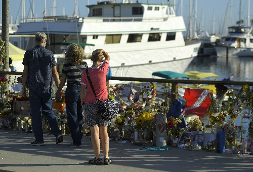 California boat company suspends tours after fatal fire