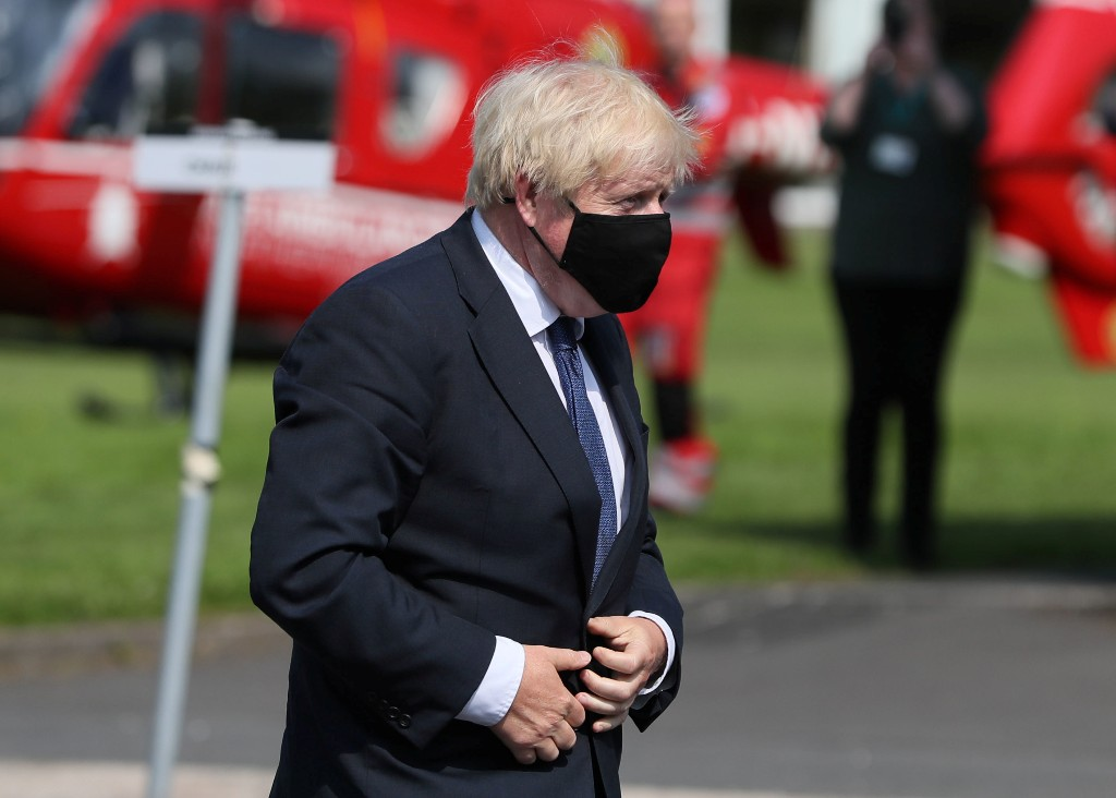 UK's Johnson sees 'very, very good case' for EU to agree trade deal