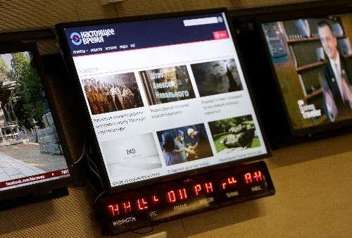 Radio Free Europe, Voice of America launch new Russian-language TV channel