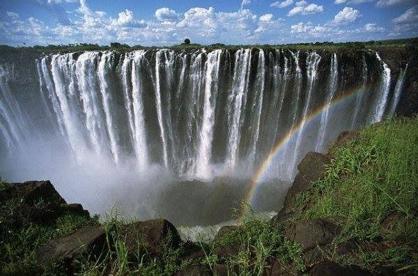 One of beautifull water fall in swaziland
