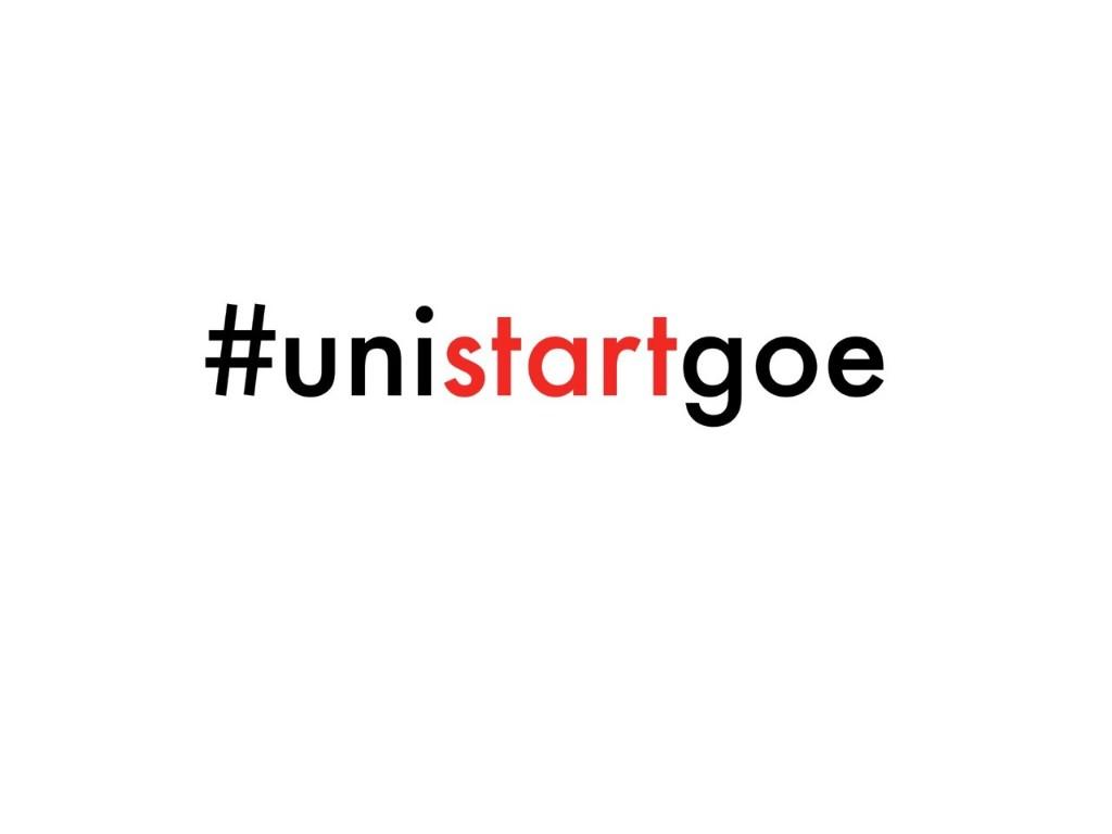 #unistartgoe - cover