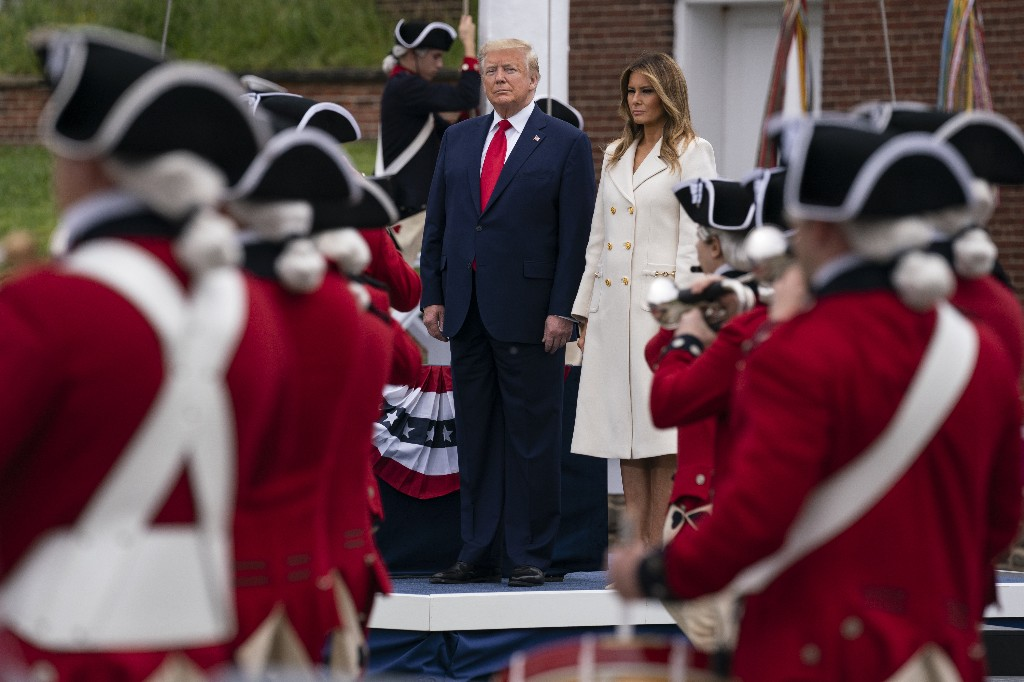 Trump doubles up with Maryland, Virginia Memorial Day events