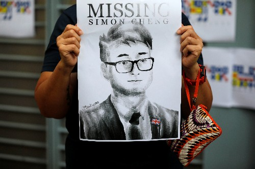 Britain presses for information on HK consulate worker detained in China