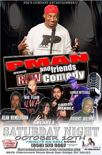 PMans Raw Comedy Vol. 24 - Magazine cover