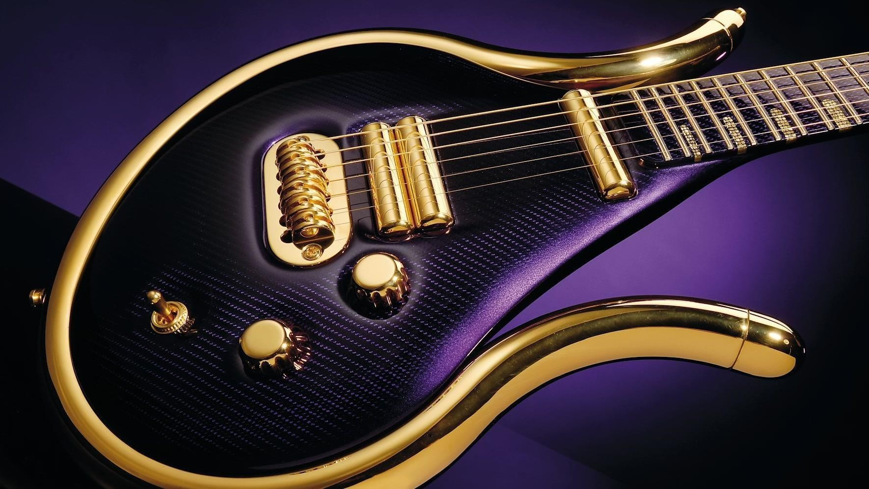 The man who made Prince's last guitar – video