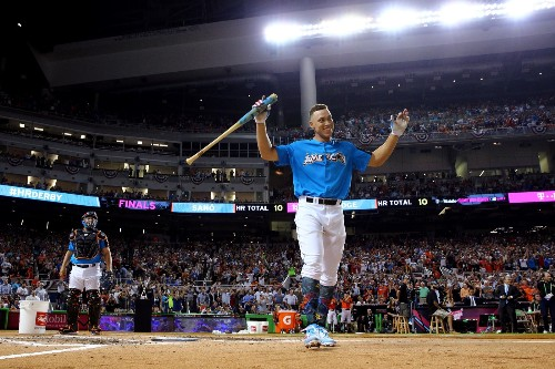 Aaron Judge Crushes the Home Run Derby: Pictures