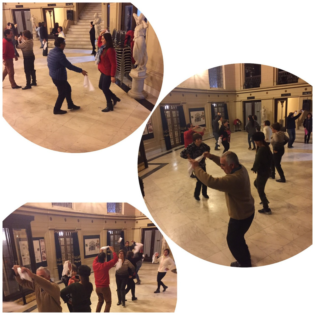 Clases gratuitas de Cueca Huasa en el Foyer del Teatro Municipal.