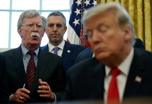 What Bolton book? Trump impeachment lawyers skirt new disclosures