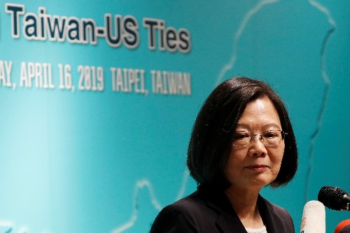 U.S. says China steps up campaign to influence Taiwan, including vote