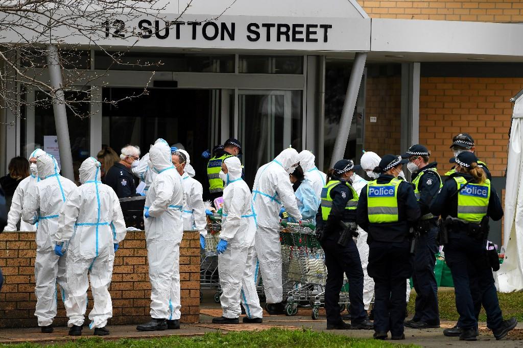 Coronavirus: Le confinement rétabli à Melbourne