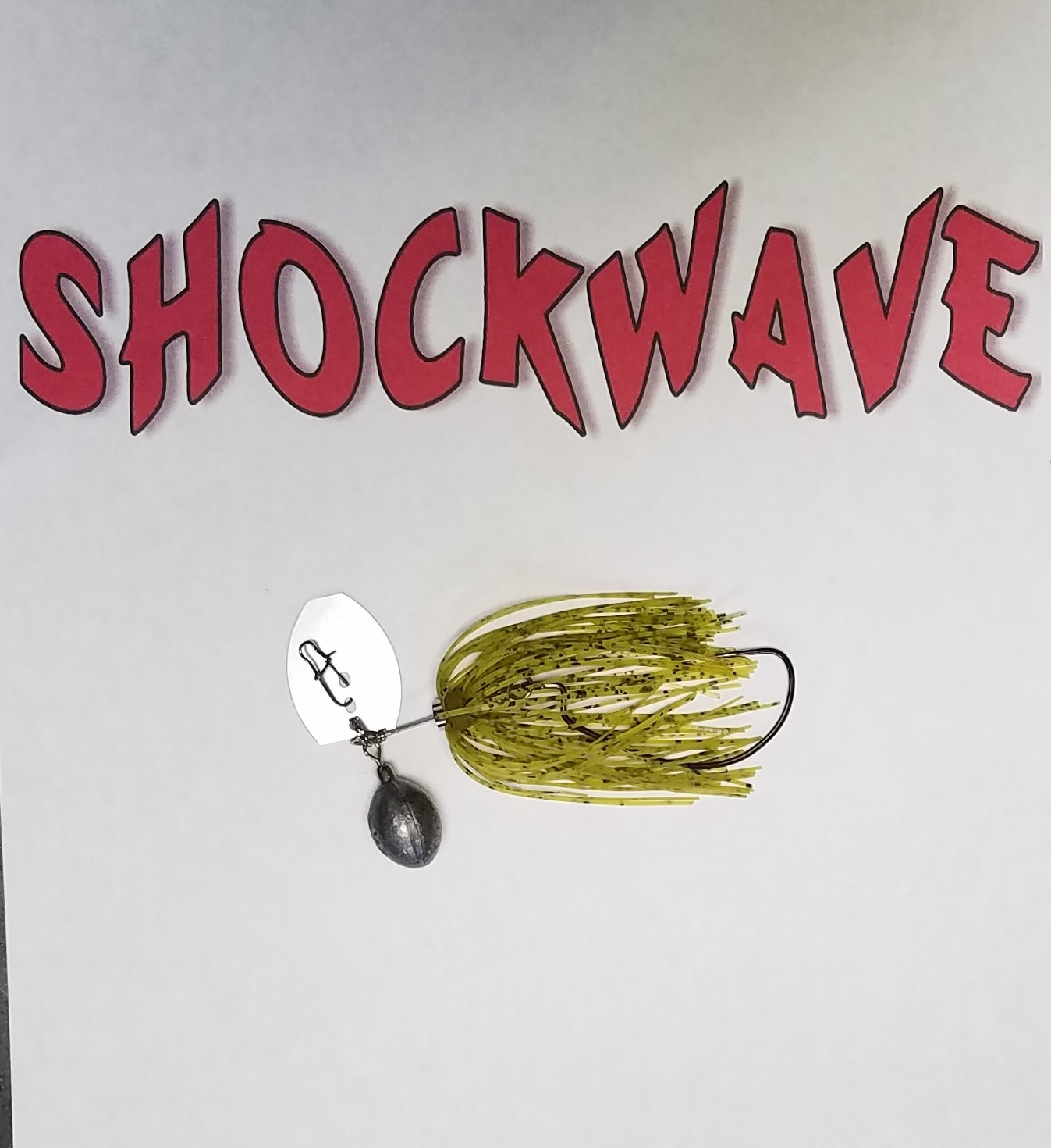 "The SHOCKWAVE has an added feature that NO other ChatterBait or bladed swim jig on the market can do... Change the weight of the lure on the fly! Keep a set of ""Shockweights"" in your tackle bag and you can vary the weight of your SHOCKWAVE from 3/8oz to 1.5oz. Allowing your to target fish at a specific depth in the water column. Made in America #shockwave #bass #bassfishing #flw #wonbass #chatterbait #bladedswimjig #bassmaster #shockweights"