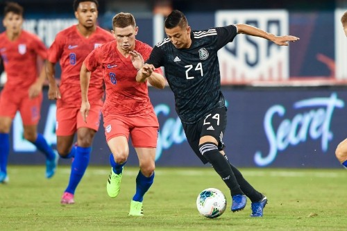 Soccer: Mexico crush United States as substitutes prove their worth