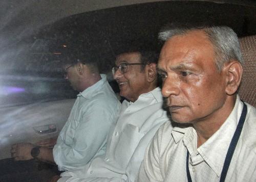 P. Chidambaram arrested in corruption case