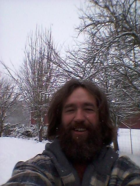 Salem oregon. My first return to oregon snow :-)