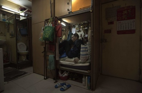 The 'Coffin Homes' of Hong Kong