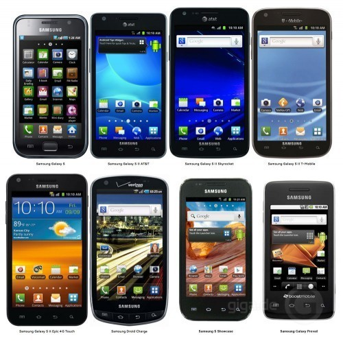 These are just 1 out of 50 of Samsung's amazing smartphones. Great job Samsung.