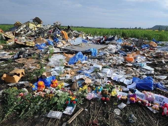 An Internet Sleuth May Have Found The Launcher That Downed MH17