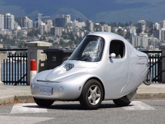 This 3-wheeled electric car is the 'Volkswagen Beetle of the 21st century'