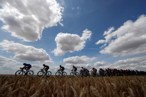 Highlights from Early Stages of the Tour De France: Pictures