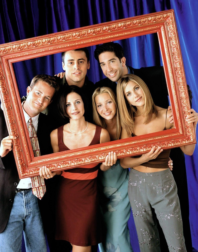 Every episode of Friends is now on Netflix