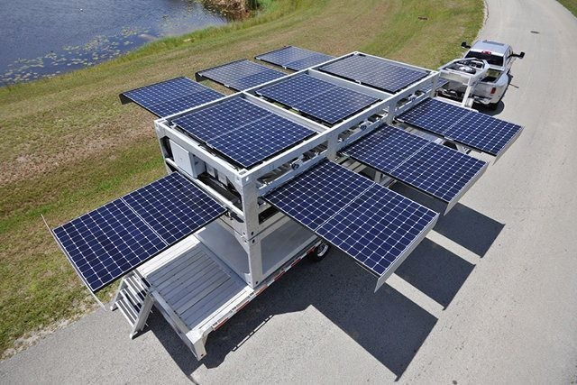 This Pop-Up Solar Power Station Can Be Installed Instantly Anywhere In the World