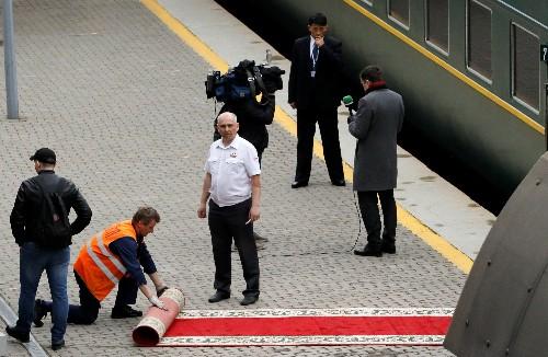 North Korean leader's train suffers hitch on arrival in Vladivostok