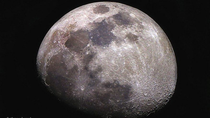 Water on the Moon came from solar wind