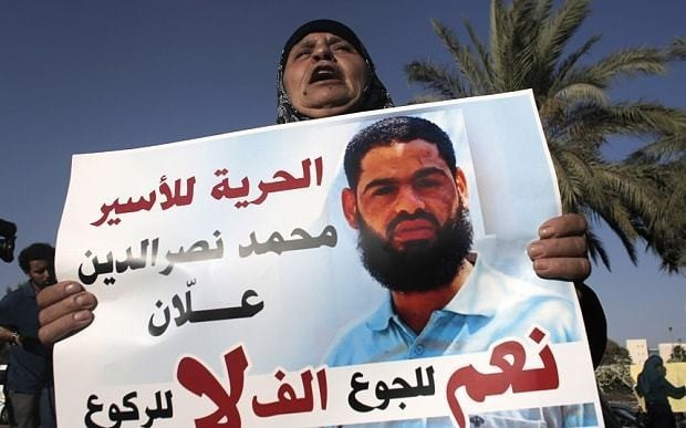 Doctors refuse to force feed fasting Palestinian prisoner