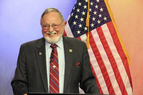 Young feted as longest-serving Republican in House history