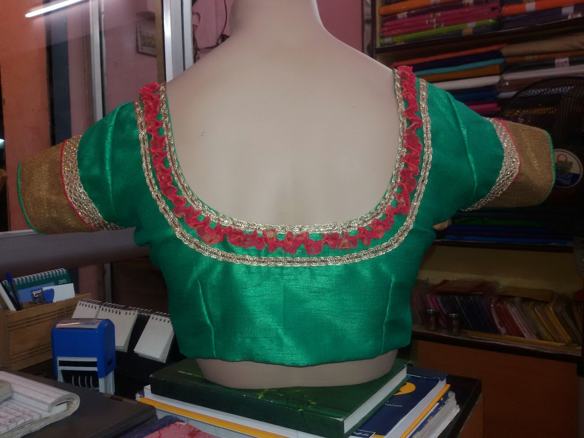 Another blouse pattern