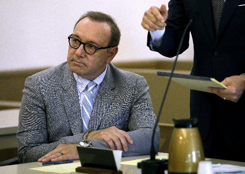 Judge: Spacey accuser's phone must be turned over to defense