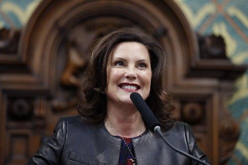 Michigan governor to take national stage to rebut Trump