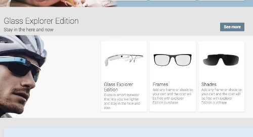Google Starts Selling Glass 'Explorer Edition' On The Play Devices Store