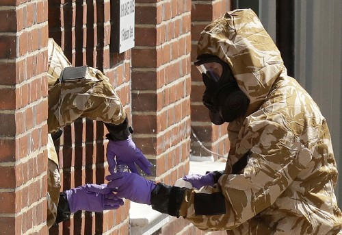UK police say second officer was poisoned in Novichok attack