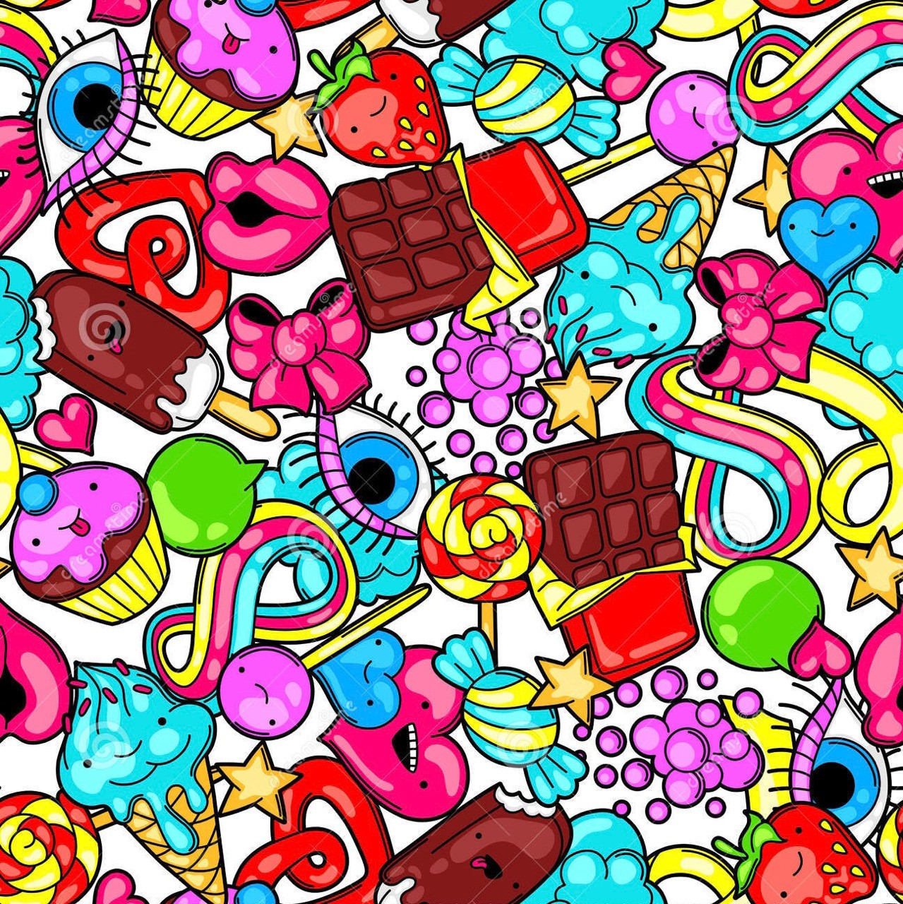 YUMMERS❗️🍬🍭🍕🍟🍇🍪🎂🍩🥗🥧🍒🥨🧀🥣🍻🍦🍡🍸🍔 cover image