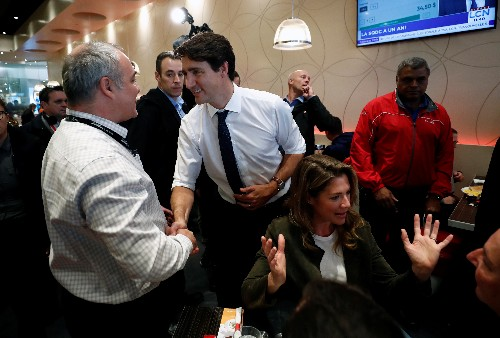 Canada's Trudeau should resign if he fails to win the most seats: Conservative leader