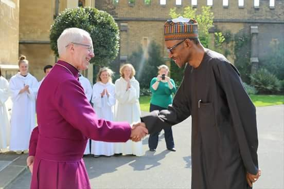 BUHARI SUBMITS TO THE LORDSHIP OF JESUS. - Magazine cover