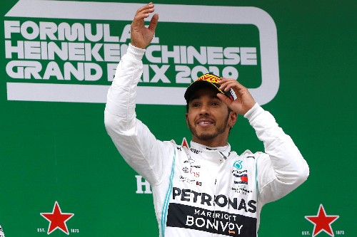 Motor racing: Berger says Hamilton is now on a par with Senna