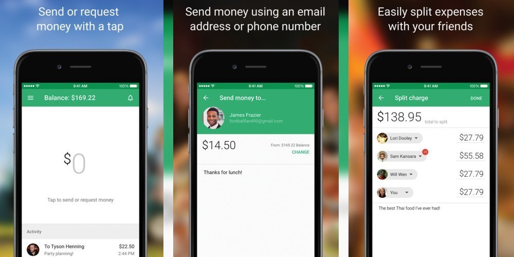 Google Wallet for iOS can now send money to any contact using just a phone number