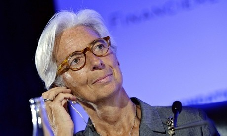 Keep UK interest rate low for now, IMF tells Bank of England